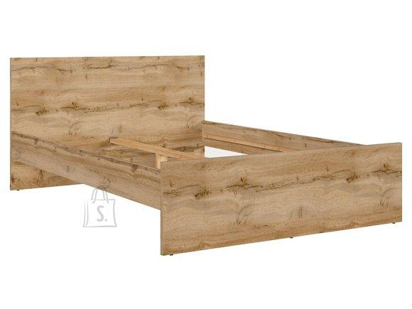 Zele bed 140X200 wotan oak