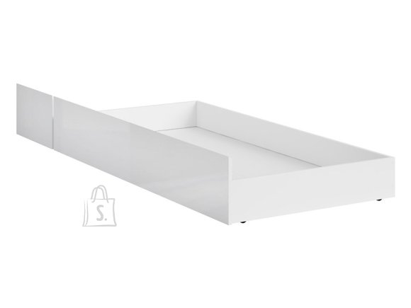Holten bed drawer 120 white/white gloss