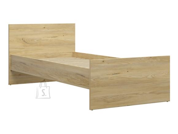 Rodes bed 90X200 belarus ash/black oak