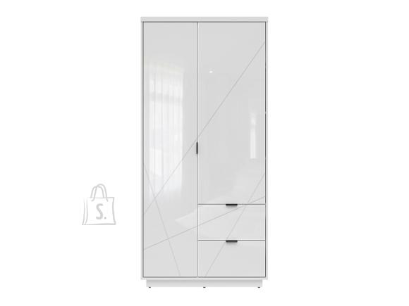 Forn wardrobe white gloss/white high gloss