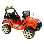 Elektriauto Jeep lastele punane