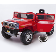 Elektriauto Hummer lastele punane