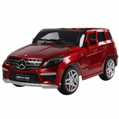 Mercedes ML63 elektriauto lastele punane