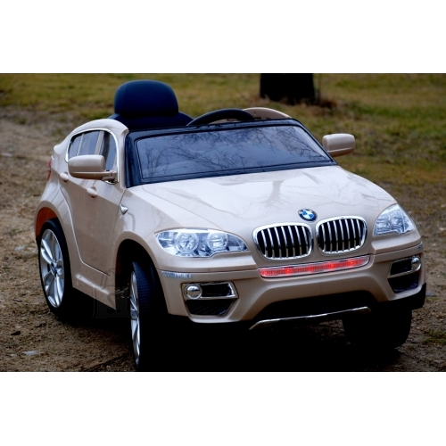 Elektriauto BMW X6 lastele beež