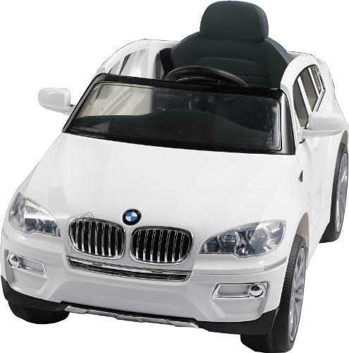 Elektriauto BMW X6 lastele valge