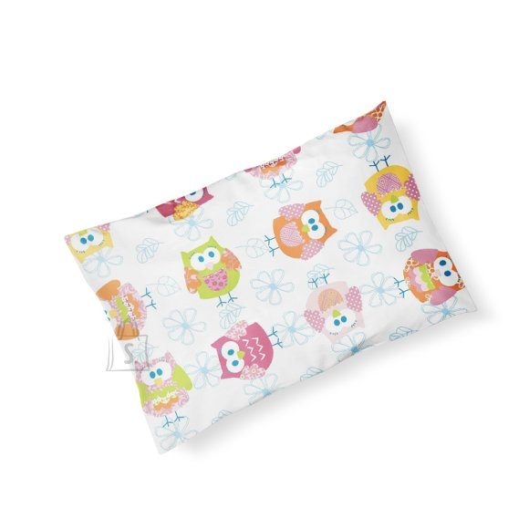 Milana padjapüür lapsele 35x50 cm (pink owl)