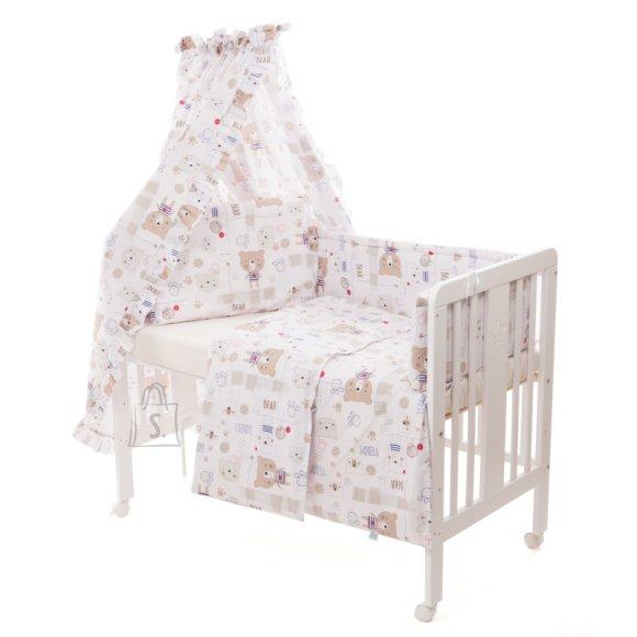 Milana Vooditarvete komplekt lapsele 6-osaline, voodile 60x120 (Bears)