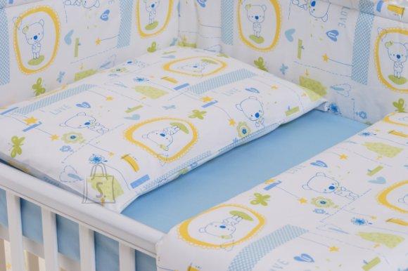 Milana Voodipesu komplekt 100x135 lapsele (blue jacadi)