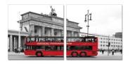 Dekoratiivpilt Bus 2tk