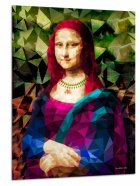 Klaaspilt Mona Lisa