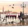 Pilt Red Boats 60x150 cm