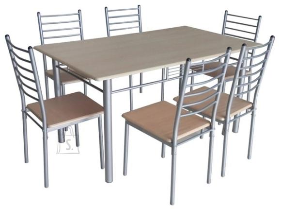 Söögitoa mööbel Emma laud + 6 tooli