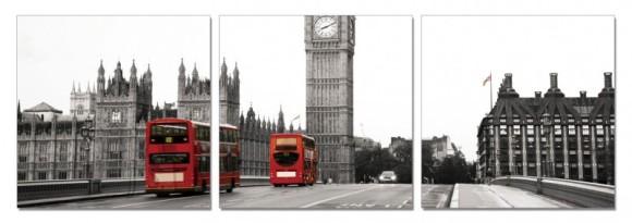 Dekoratiivpilt London 3tk