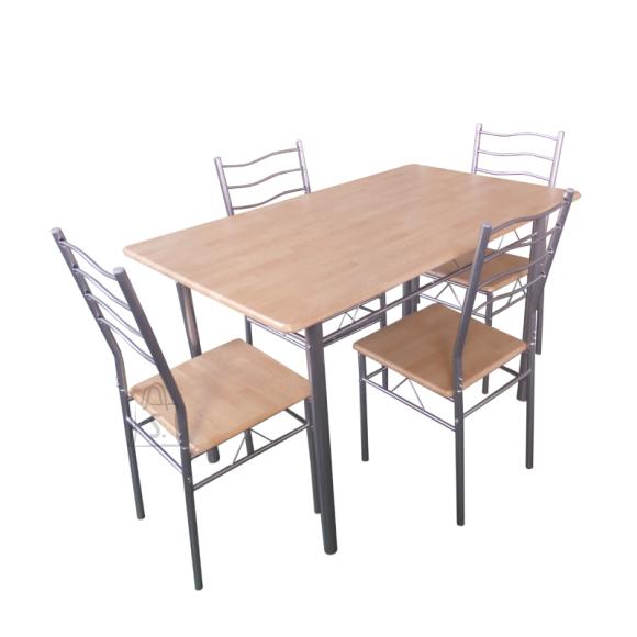 Söögilaua ja toolide komplekt Baremen