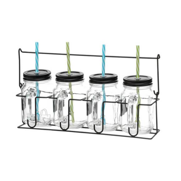 Klaaspurkide komplekt 4-le