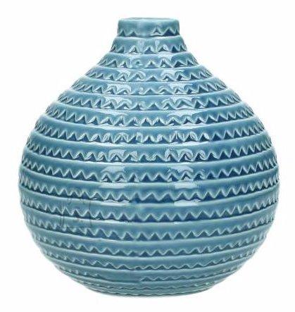 Keraamiline vaas 15 cm sinine