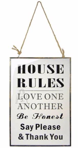 Sõnumisilt House rules