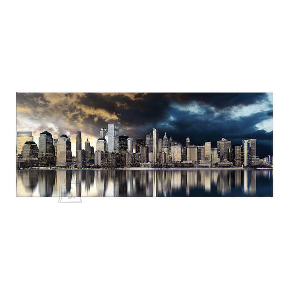 Pilt Gold City 60x150 cm