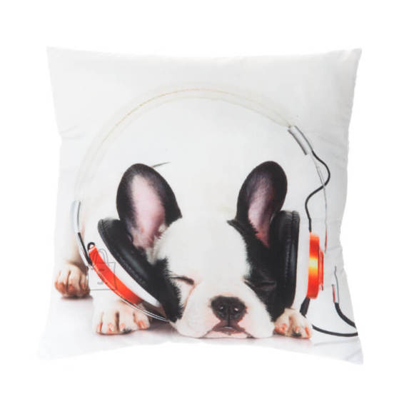 Dekoratiivpadi Music Dog 45x45 cm