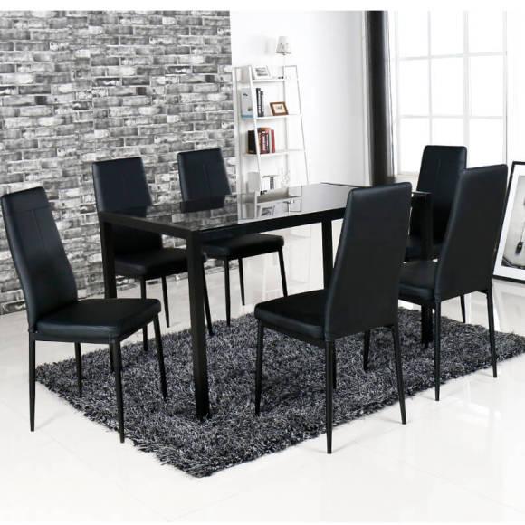 Söögilauakomplekt Lobos laud + 4 tooli