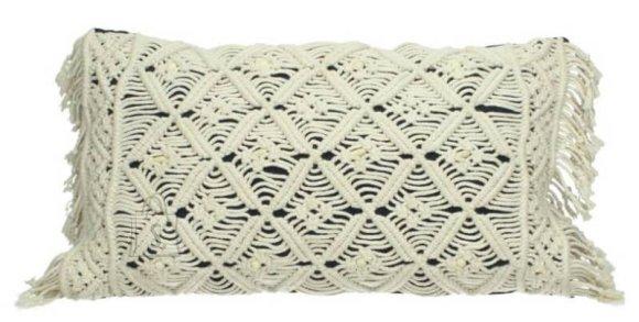 Dekoratiivpadi Macrame 30x50 cm