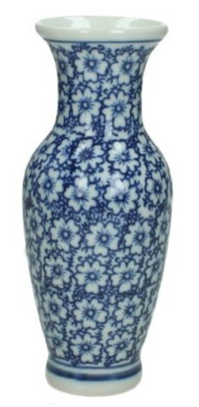 Vaas Flower Blue