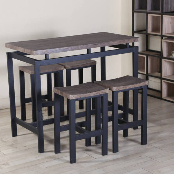 Söögilauakomplekt Nimes laud + 4 tooli