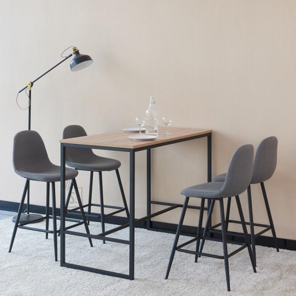 Söögilaua ja toolide komplekt Menton