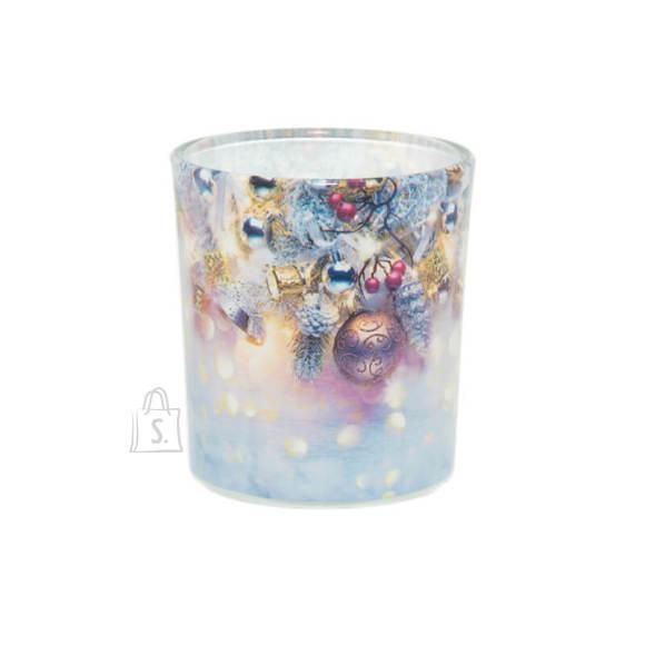 Lõhnaküünal klaasis Jõulud