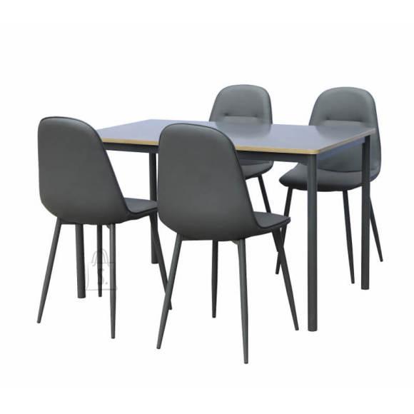 Söögilaukomplekt laud + 4 tooli Toulouse
