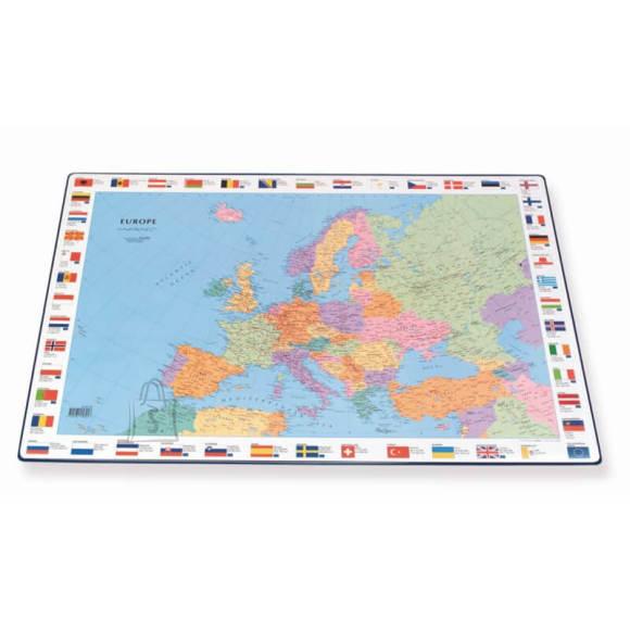 Lauamatt Euroopa kaart 44x63 cm