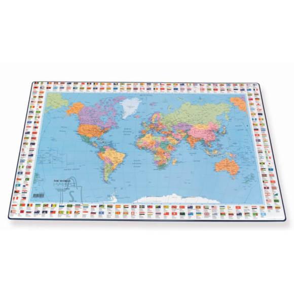 Lauamatt maailma kaart 44x63 cm