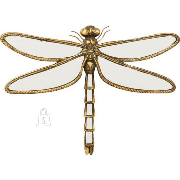 Seinapeegel Dragonfly kuldne