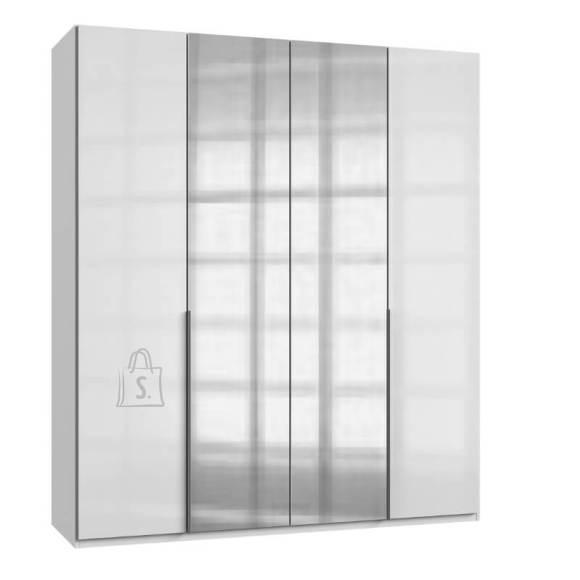 Riidekapp New York klaas-valge