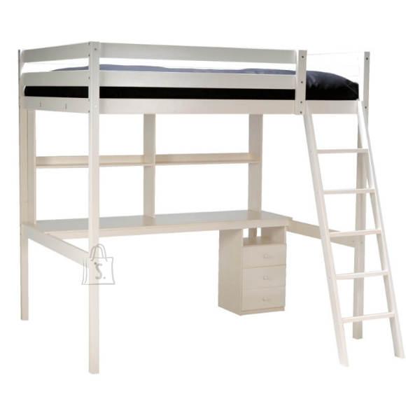 Voodi Studio+ laud 140x190 cm läbikumav valge