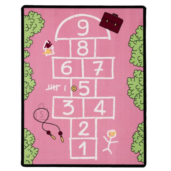 Vaip Happy 100x150 cm roosa