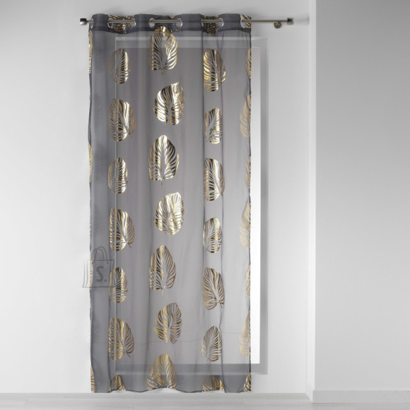 Kardin Palmette 140x240 hall/kuldne