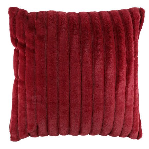 Dekoratiivpadi Fur 60x60 cm punane