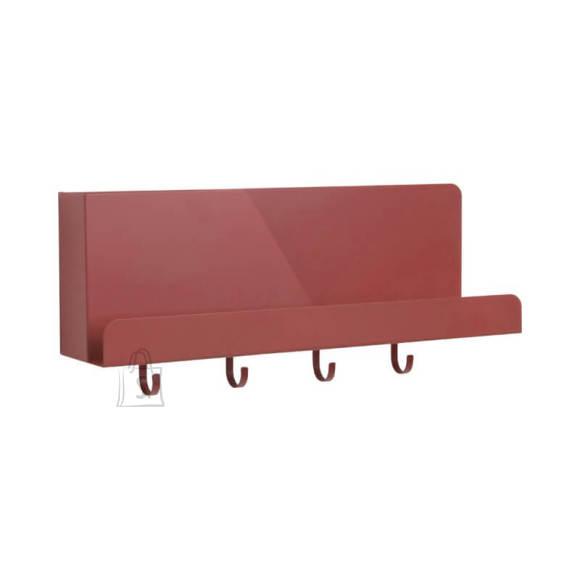 Seinariiul/nagi Perky 46x10,5x19,5 cm pruun