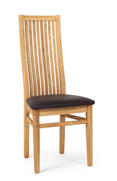 Tammepuidust tool Sandra, tumepruun iste