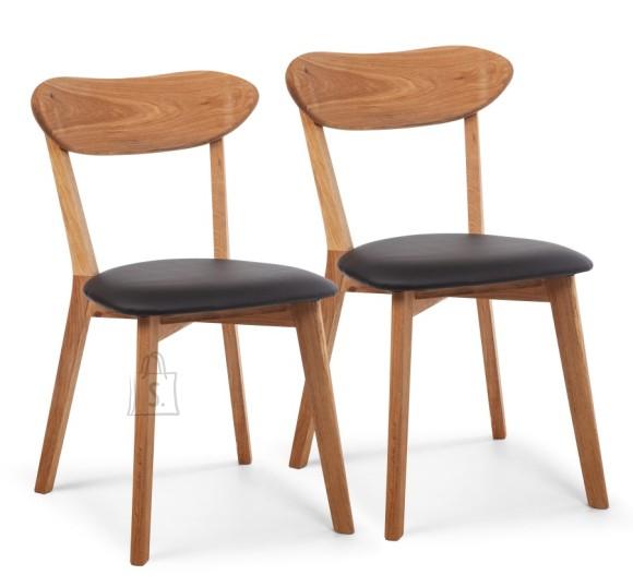 Tammepuidust toolid Irma Must, 2 tk