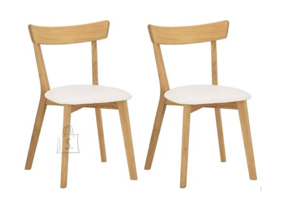 Tammepuidust toolid Viola Beež, 2 tk