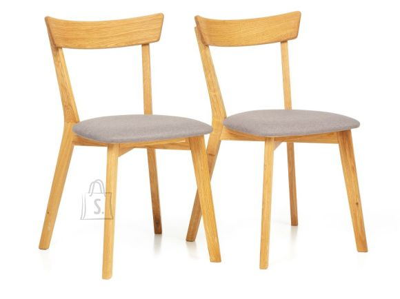 Tammepuidust toolid Viola, hall 2 tk