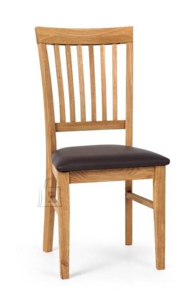 Tammepuidust tool Ronny, tumepruun