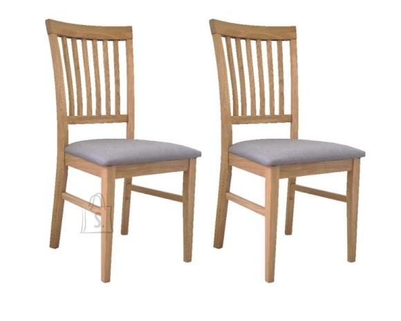 Tammepuidust toolid Ronny, 2 tk, helehall