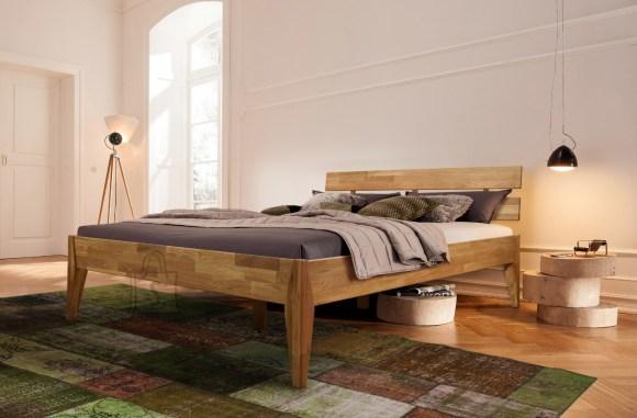 Tammepuidust voodi Elke 140x200 cm