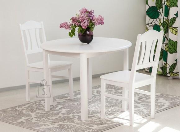 Söögitoakomplekt Ada2 100x100-178 cm + toolid Per 2tk