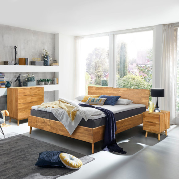 Tammepuidust voodi Scan 160x200 cm