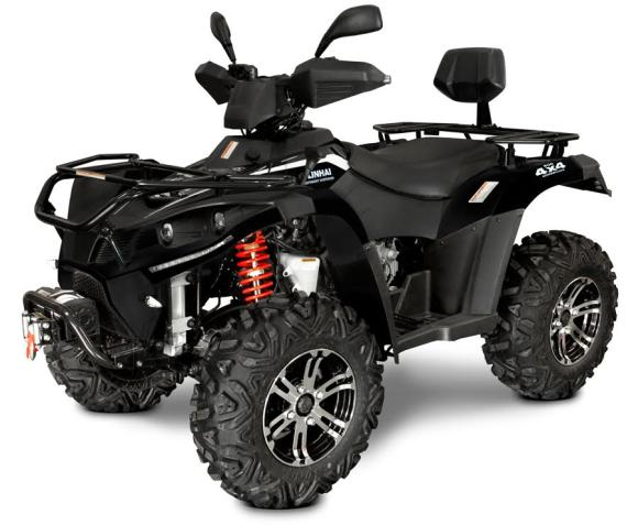 Linhai-Yamaha ATV 500CC VINTS 3000LBS+KONKS