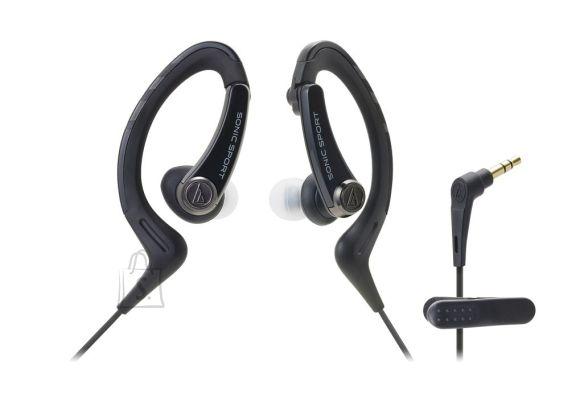 Audio-Technica Kõrvaklapid Audio-Technica ATH-SPORT1BK SonicSport Must IPX5 Veekind